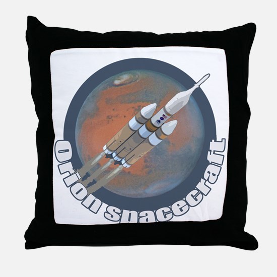 Orion Spacecraft 3 Throw Pillow