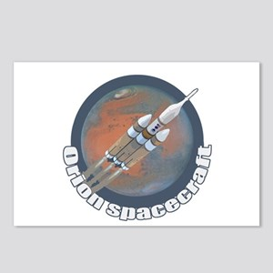 Orion Spacecraft 3 Postcards (Package of 8)