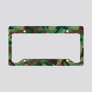 Classic Camo License Plate Holder