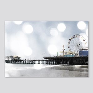 Grey Sparkling Pier Postcards (Package of 8)