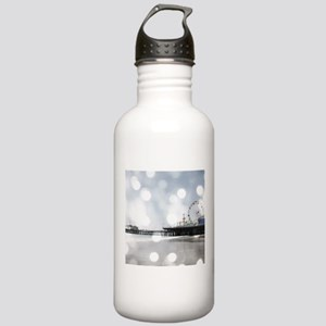 Grey Sparkling Pier Stainless Water Bottle 1.0L