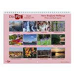 Dixpix Classic 7: New England Wall Calendar