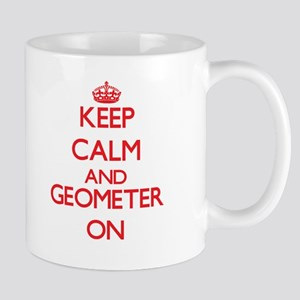 Keep Calm and Geometer ON Mugs
