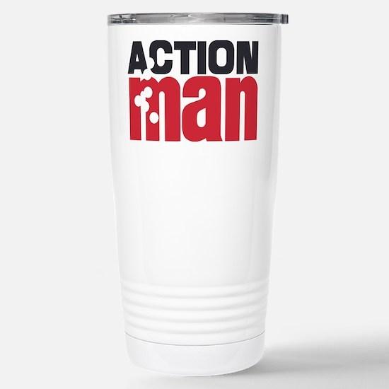 Action Man Stainless Steel Travel Mug