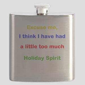Holiday Spirit Flask
