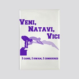 VENI-NATAVI-VICI Rectangle Magnet