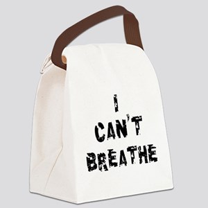 I Can't Breathe Canvas Lunch Bag