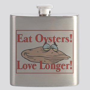 eat oysters love longer Flask