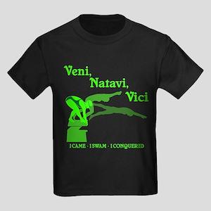 VENI-NATAVI-VICI Kids Dark T-Shirt
