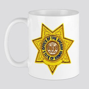 Hawaii Sheriff Mug
