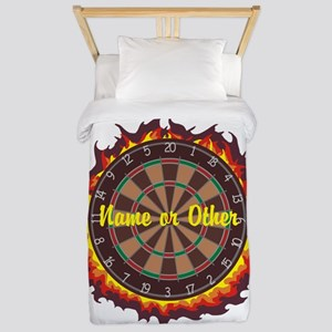 Personalized Darts Player Twin Duvet