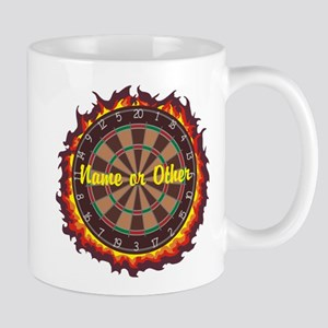Personalized Darts Player Mugs