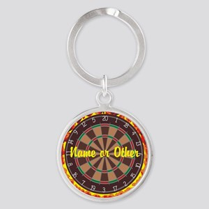 Personalized Darts Player Keychains