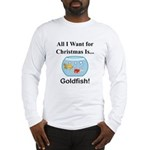 Christmas Goldfish Long Sleeve T-Shirt