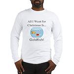 Christmas Goldfish Long Sleeve T-Shirt