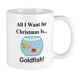 Christmas Goldfish Mug