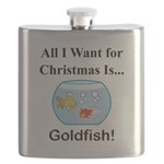 Christmas Goldfish Flask