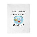 Christmas Goldfish Twin Duvet