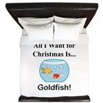 Christmas Goldfish King Duvet