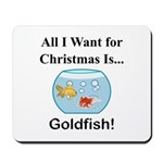 Christmas Goldfish Mousepad