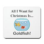 Christmas Goldfish Mousepad