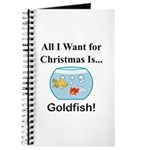 Christmas Goldfish Journal