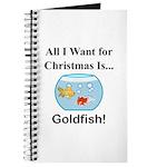 Christmas Goldfish Journal