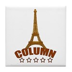 French T-shirts Tile Coaster
