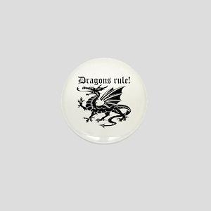 Dragons rule Mini Button