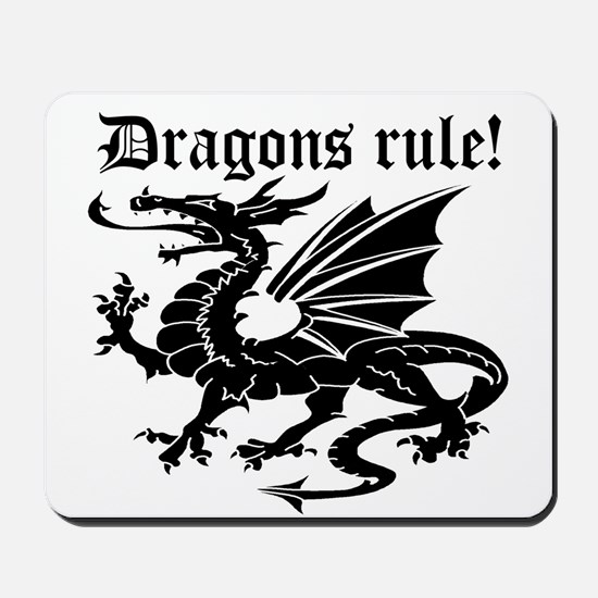 Dragons rule Mousepad