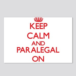 Keep Calm and Paralegal O Postcards (Package of 8)