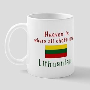 Lithuanian Chefs Mug