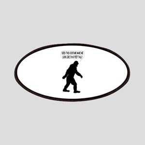 Bigfoot Silhoutte With Speech Bubble Patches