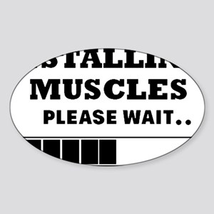 Installing Muscles - Loading Bar Sticker