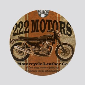 222 Motors - British Style Ornament (Round)