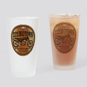 222 Motors - British Style Drinking Glass