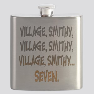 Village Smithy Gold Flask