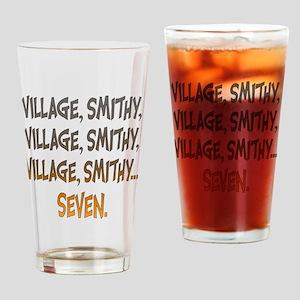 Village Smithy Gold Drinking Glass