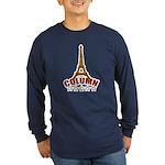 French T-shirts Long Sleeve Dark T-Shirt