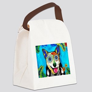 Reyna the Heeler Canvas Lunch Bag
