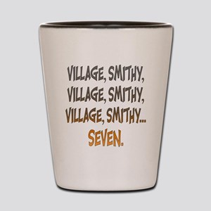 Village Smithy Gold Shot Glass