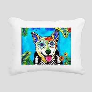 Reyna the Heeler Rectangular Canvas Pillow
