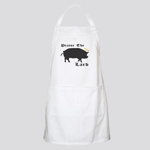 Praise the Lard funny bacon pig fat Apron