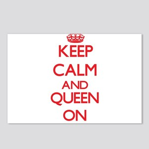 Keep Calm and Queen ON Postcards (Package of 8)