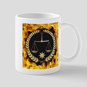 Flaming Justice Mugs