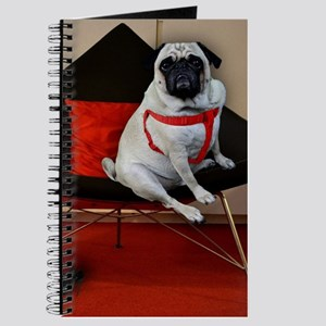 Sexy Pug with Heels Journal
