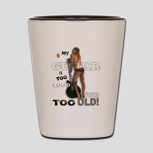 Too OLD Shot Glass