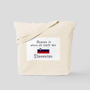 Slovenian Chefs Tote Bag