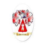 Heindrick Oval Car Magnet
