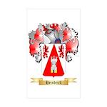 Heindrick Sticker (Rectangle 50 pk)